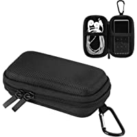 AGPTEK Durable MP3 Player Case, Portable Clamshell Headphones Cover, Holder with Metal Carabiner Clip for MP3 Players…