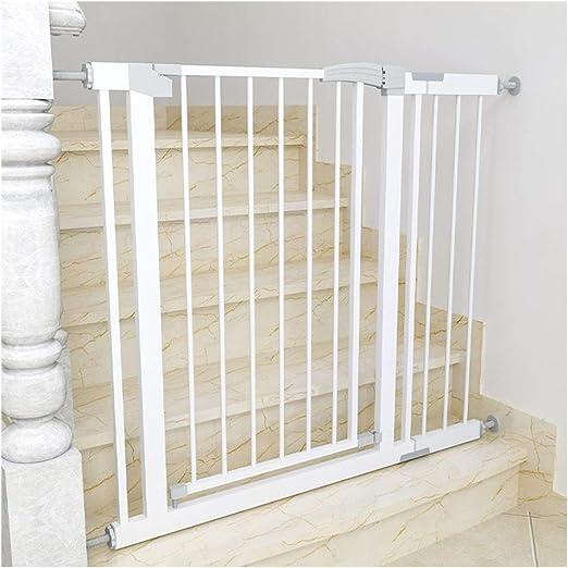 Puerta De Bebé Puerta de seguridad for bebé extendida for escalera Mascota Anti-perro Chimenea Valla Aislamiento Barandilla Telescópico Protector de escalera Protección infantil Avant-garde Auto cierr: Amazon.es: Hogar