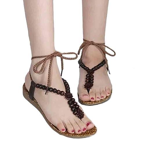 99b528598e6 Fullkang Women Sandals for Beach