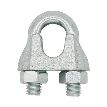 Croissant Serre-câble 6 mm 1/4 bloqueur de corde en forme étrier pour cordes BZ-56