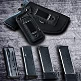 3 Pack Universal Magazine Holster, IWB Mag Pouch