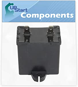 W10662129 Refrigerator and Freezer Compressor Run Capacitor Replacement for Amana TZ21RL (P1157604W L) Refrigerator - Compatible with 2169373 WPW10662129 Run Capacitor - UpStart Components Brand
