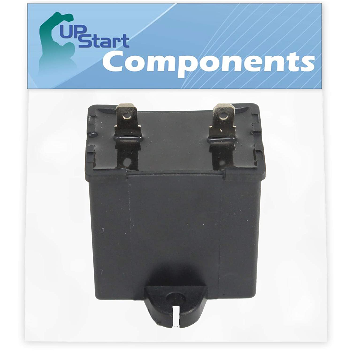 W10662129 Refrigerator and Freezer Compressor Run Capacitor Replacement for Amana TZ21RL (P1157601W L) Refrigerator - Compatible with 2169373 WPW10662129 Run Capacitor - UpStart Components Brand