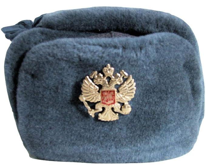USSR Vintage Russian Army Ushanka Winter Hat 115d2291bf42