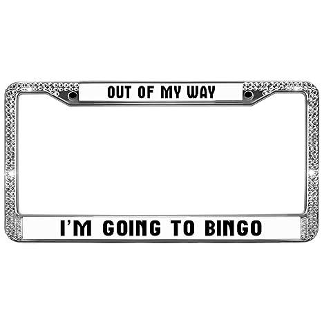 Amazon.com: Funny Life Quotes License Plate Frame Chrome ...