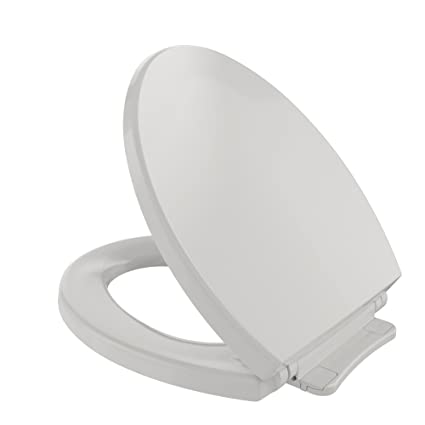 TOTO SS113#11 Transitional SoftClose Round Toilet Seat, Colonial White