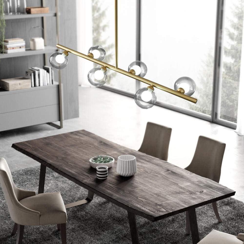 WEPAINTING Restaurant Lampe nordischen postmodernen Stil einfache kreative Kronleuchter rechteckige Esstisch Lampe Esszimmer Stehtisch Netz rote Beleuchtung-Weißes Licht A464