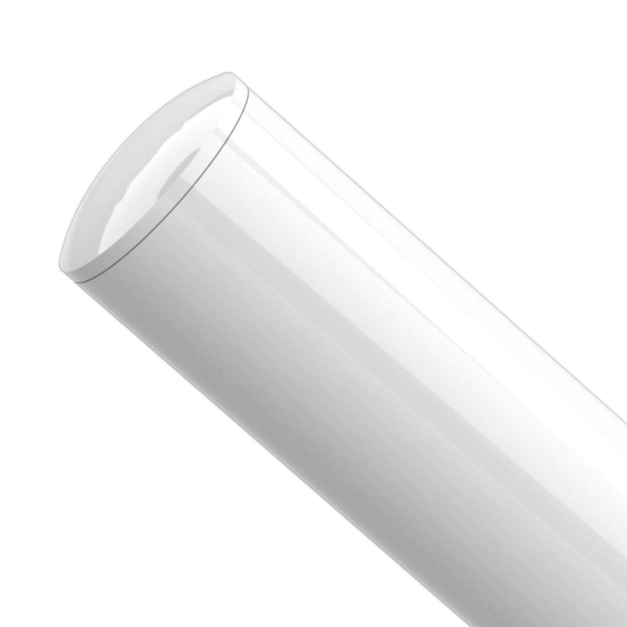 FORMUFIT F114IDC-WH-10 PVC Internal Domed End Cap, Furniture Grade, 1-1/4'' Size, White (Pack of 10) by FORMUFIT (Image #3)
