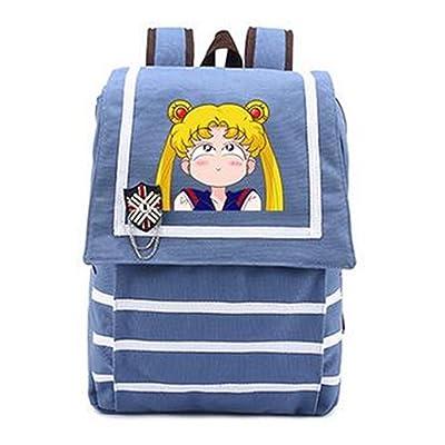 YOYOSHome Sailor Moon Anime Tsukino Usagi Cosplay Shoulder Bag Backpack School Bag (2) 60%OFF