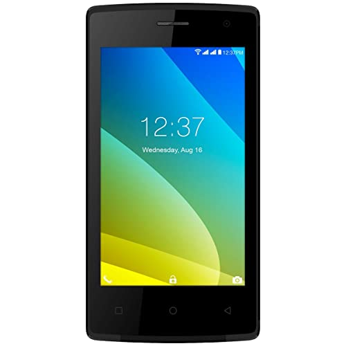 Intex Cloud C1 (Black, 1GB RAM)