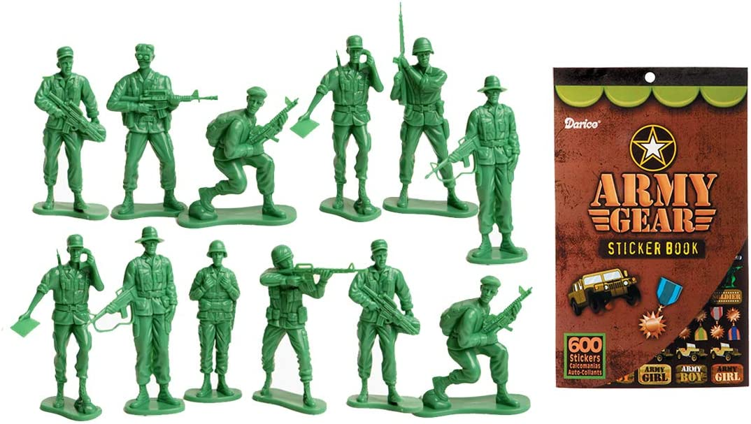 US Toy Company 7958 Large Soldiers, 2-Pack of 12