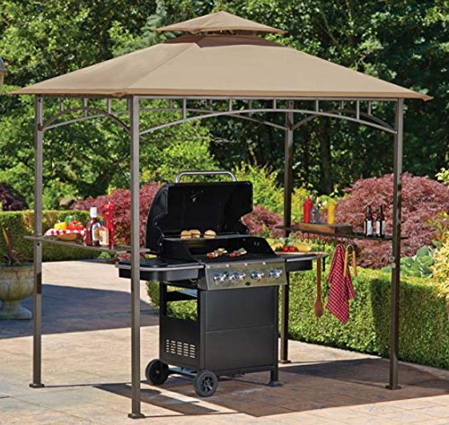 Sunjoy Replacement Canopy Set for Grill Gazebo 110109178