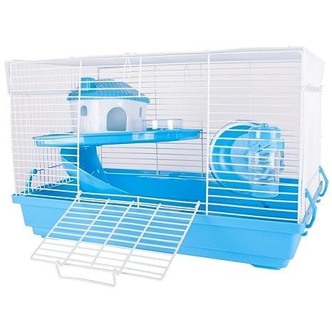 Petlicity - Jaula de hámster para mascotas, compacta, para ...