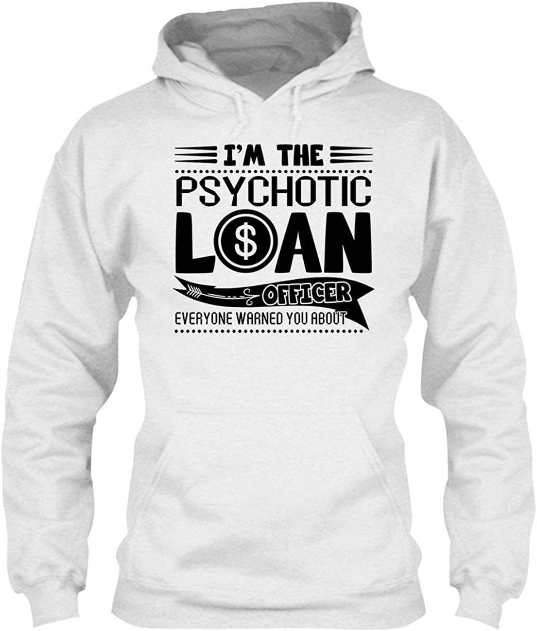 Clothing Tee Shirt Light Orange Psychotic Loan Officer Shirt
