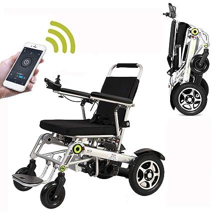 Amazon.com: KuiGu – Silla de ruedas eléctrica automática ...