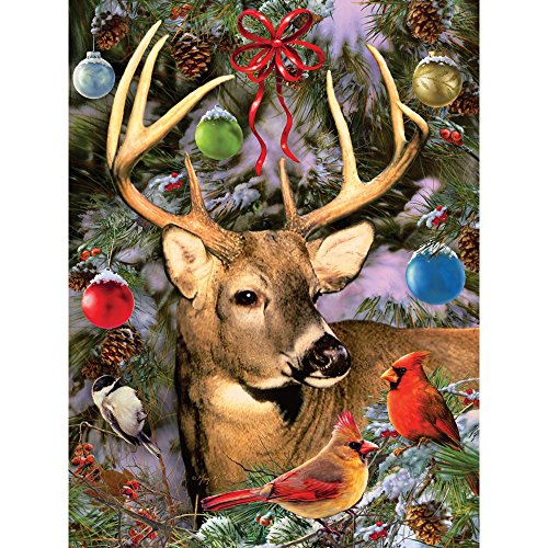 Bits and Pieces - 300 Piece Jigsaw Puzzle for Adults 18X24 - Winter Friends - 300 pc Jigsaw by Artist Greg Giordano