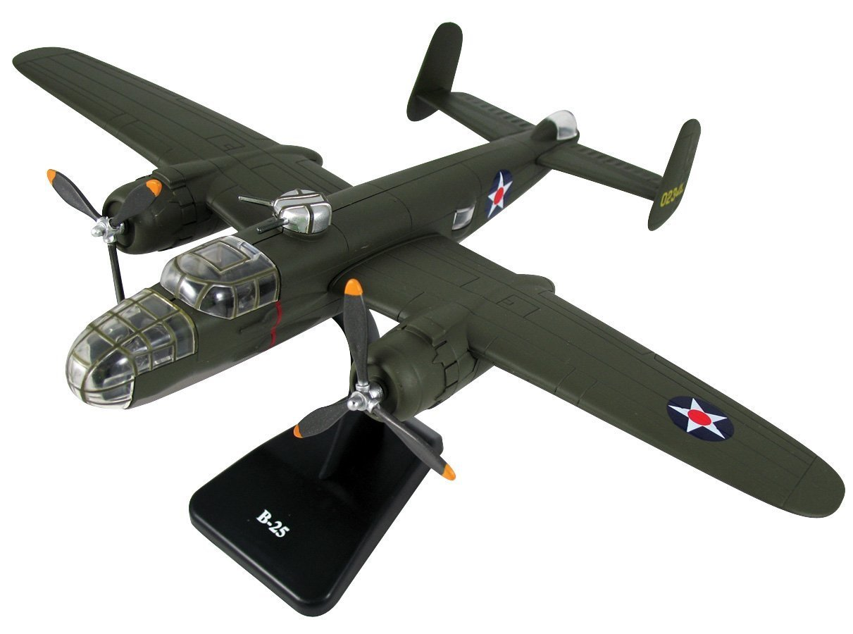 Classic B-25 Twin Engine Aircraft Model Kit Plane Set 1//48 NewRay 20107