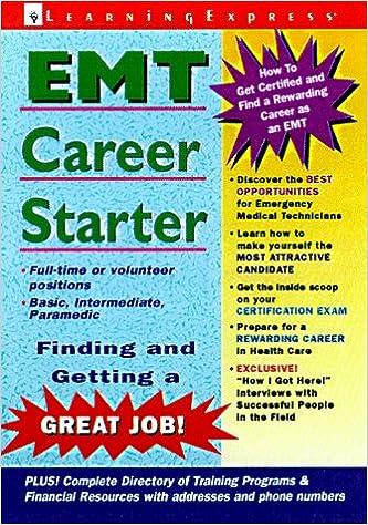 Book EMT Career Starter