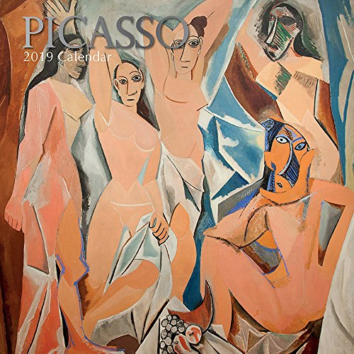Used, 2019 Wall Calendar - Picasso Calendar, 12 x 12 Inch for sale  Delivered anywhere in USA