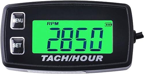 Digital Inductive Marine Boat Tachometer (RPM Gauge) [Runleader] Picture