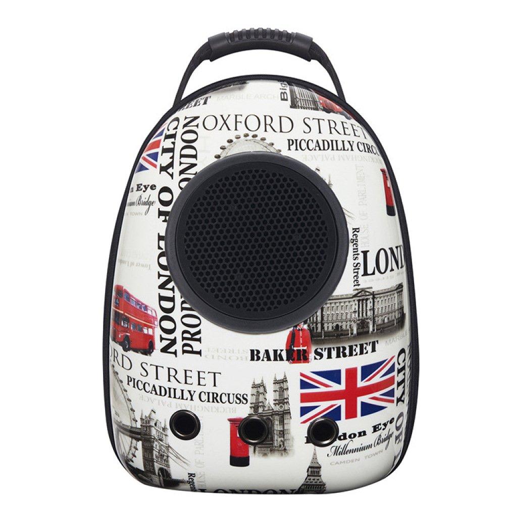 E JUFENG Traveler Pet Carriers Backpack,Waterproof,Breathable Dog Treat Pouch Bag,Adjustable Belt,C