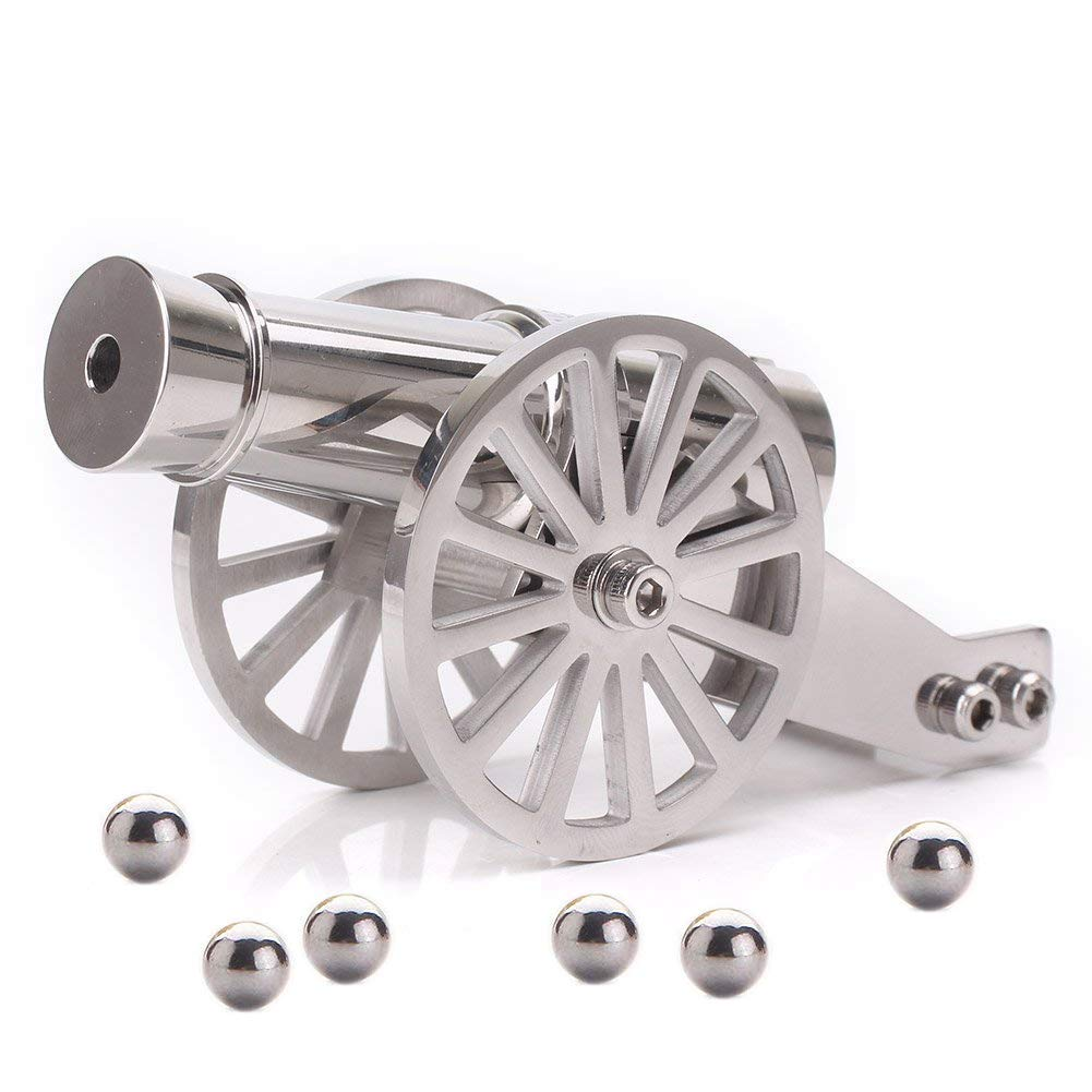 Firesofheaven Mini Napoleon Cannon Model Metal Replica Desktop Decorating and Collectibles by Firesofheaven