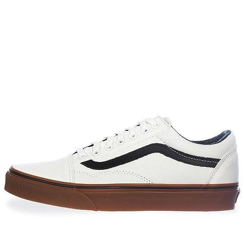 Skool Tenis Hombre Vans Old Blanco 38g1mw1 29 shrQdt