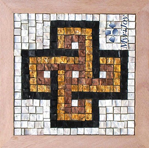 DIY Mosaic Kit for beginners Easy Solomon's Knot 9