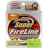 バークレイ(Berkley) PEライン  150m 0.5号/8lb グリーン スーパーファイヤー 釣り糸