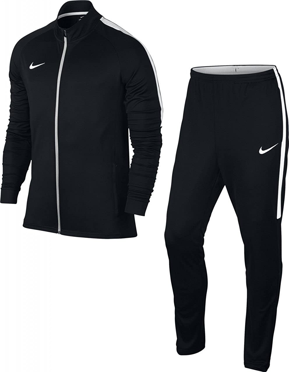 6445e564d Amazon.com: Nike Dry Training Academy Men's Tracksuit (XL, Black/White):  Clothing