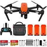 Autel Robotics EVO Foldable Drone Camera 60FPS 1080P 4K Camera Live Video with Wide-Angle Lens 30 Minutes Flying Time and Three-Way Obstacle Avoidance Mini Quadcopter(Extra 2 Batteries)