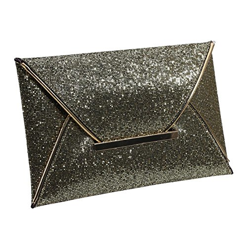 Glod Party Prom Women Bag Clutch Handbag Widewing Bridal Evening Sequins Ladies Tq7wxwfv