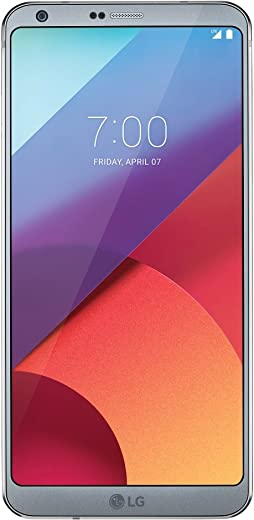 LG G6-32GB T-Mobile Unlocked Android Phone w/Dual 13MP Camera - Ice Platinum