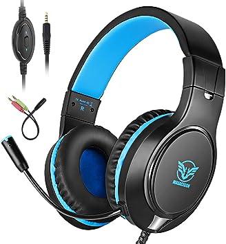 Bovon Auriculares Gaming, Cascos PS4 con Microfono para Xbox One ...