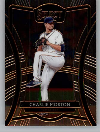 amazon com 2020 select baseball diamond level 249 charlie morton tampa bay rays official mlbpa licensed trading card made by panini america collectibles fine art amazon com