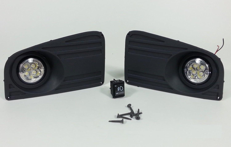 Led Nebelscheinwerfer Tagfahrlicht Lampen Gitter Set Auto