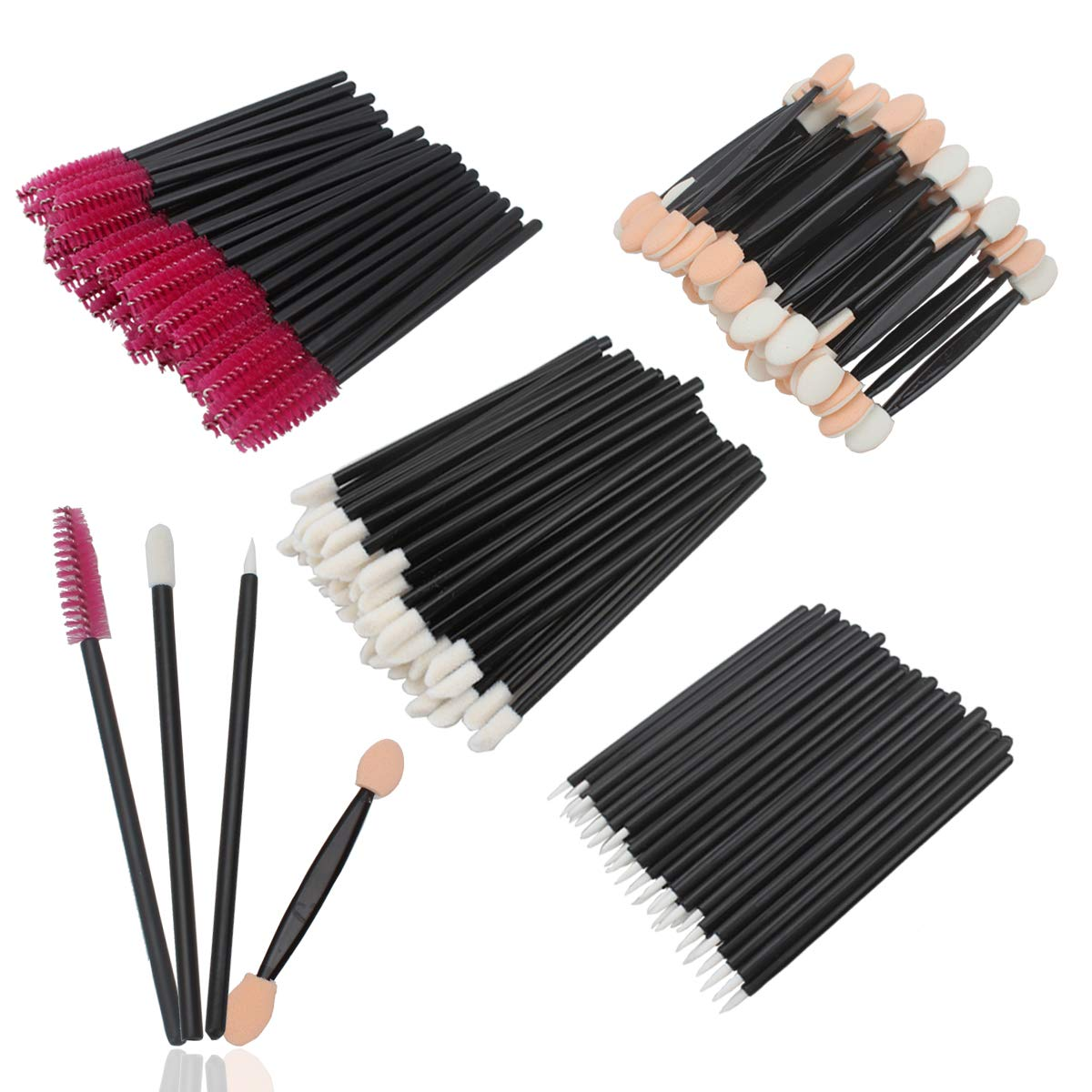 Amazon Com Velscrun 200 Pieces Disposable Makeup Brushes For Lip