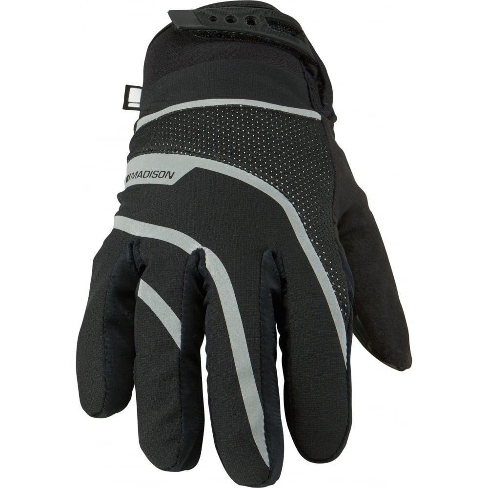 Madison ブラック 2016 Avalanche MTB 防水手袋 (L、ブラック)   B01N0H86Z1