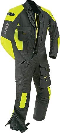 Joe Rocket Survivor Mens Black Textile Riding Suit Large Short