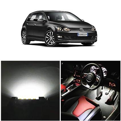 WLJH 12 piezas Canbus libre de errores 2835SMD coche LED interior ...
