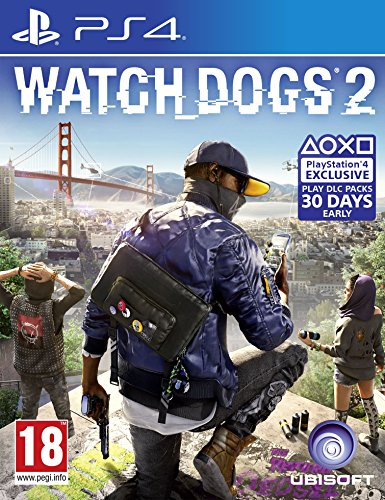 Price comparison product image Ubisoft Watch Dogs 2 (Ps4)