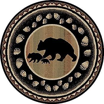 Amazon Com Rug Empire Take The Lead Rustic Lodge Area Rug
