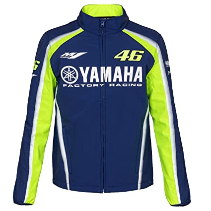 more photos 431b6 6e0c4 Valentino Rossi VR46 Moto GP M1 Yamaha Racing Soft Shell Giacca Ufficiale  Nuovo