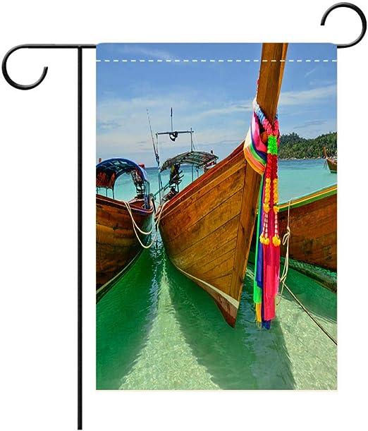 BEICICI Bandera de jardín Personalizada Exteriores, decoración de terraza, Patio, Porche, balcón, jardín o césped: Amazon.es: Jardín