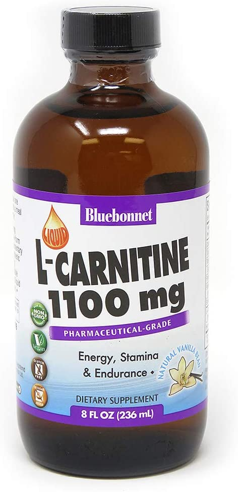 BlueBonnet Liquid L-Carnitine 1100 mg, Vanilla, 8 Fluid Ounce: Health & Personal Care
