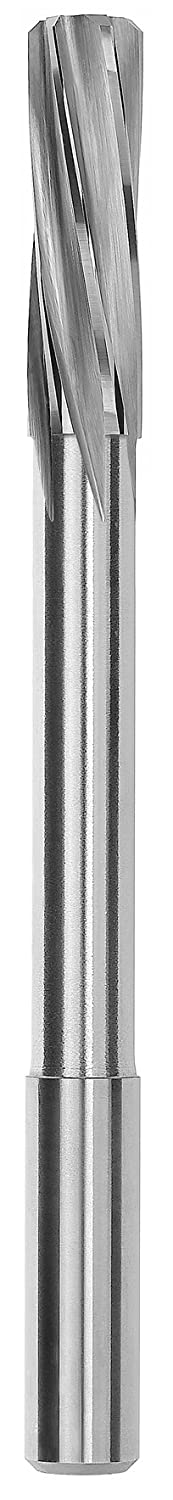 4.05mm Round Shank 88860004050 Spiral Flute Magafor Solid Carbide High Precision Miniature Reamer Pack of 1