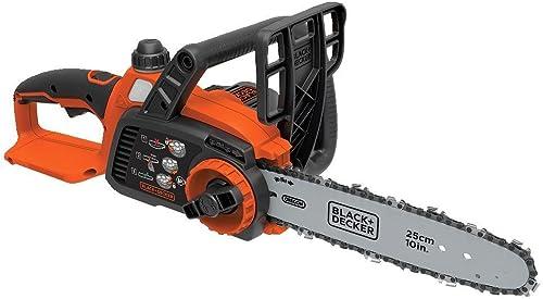BLACK DECKER 20V MAX Cordless Chainsaw, 10-Inch, Tool Only LCS1020B Renewed