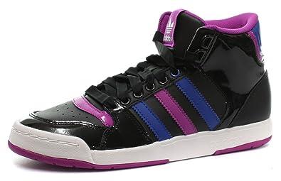 pretty nice 2894d a0949 adidas Midiru Court Mid 2 W, Damen Sneaker, schwarz - Nero (Noir) - Größe  36 23 Amazon.de Schuhe  Handtaschen