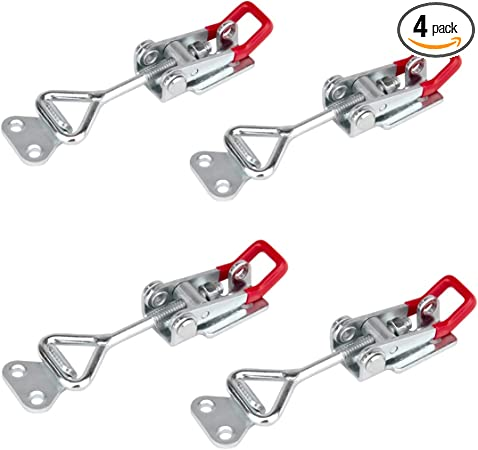 5PC Adjustable Toggle Clamp Pull Action Latch Hand 100KG//220lbs Capacity J3S8