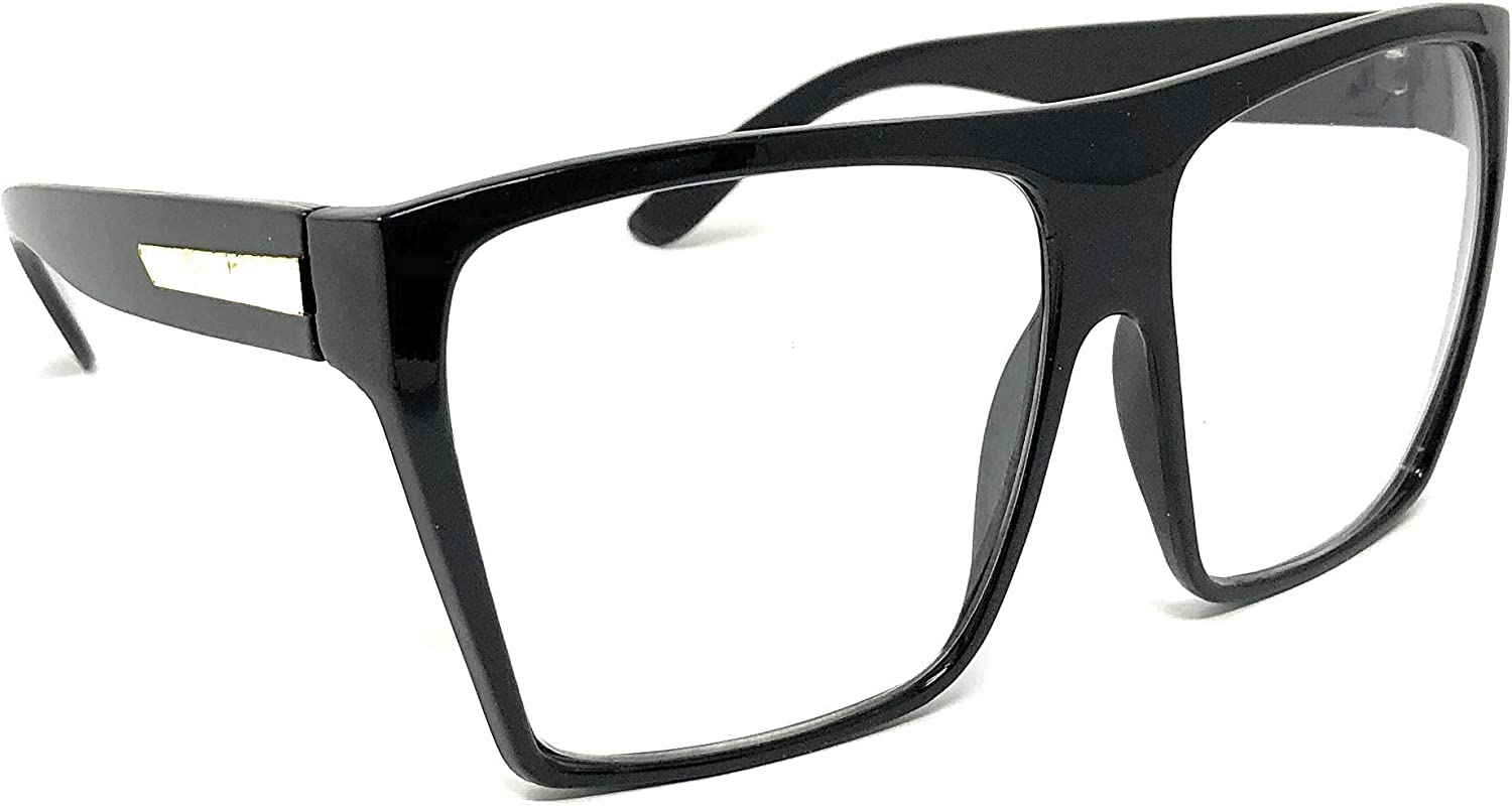Nerd Glasses Classic Fashion Frame Clear Lens Square Round Rectangle/…/…/… WebDeals